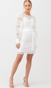 Sukienka V by Very z długim rękawem z okrągłym dekoltem