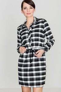 Sukienka LENITIF koszulowa z tkaniny