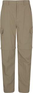 Brązowe spodnie Mountain Warehouse