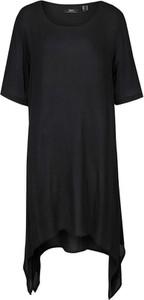 Czarna sukienka bonprix w stylu casual mini