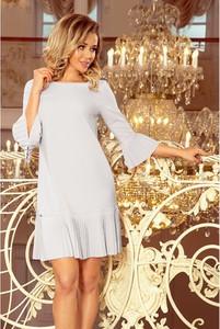 Sukienka NUMOCO mini z długim rękawem w stylu casual