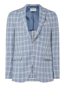 Niebieski garnitur McNeal z bawełny