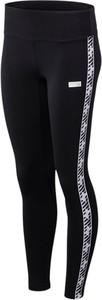 Czarne legginsy New Balance z bawełny