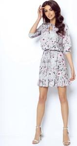 Sukienka Ivon oversize z długim rękawem