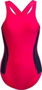 Różowy strój kąpielowy Outhorn w sportowym stylu