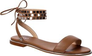 Sandały Liu-Jo w stylu casual ze skóry sznurowane
