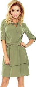 Zielona sukienka SaF mini