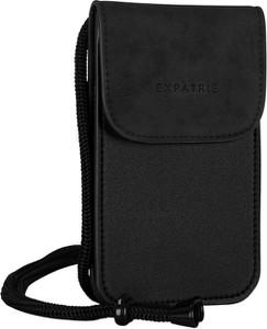 Czarna torebka Expatrié matowa na ramię
