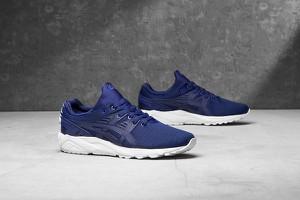 Niebieskie buty sportowe ASICS sznurowane