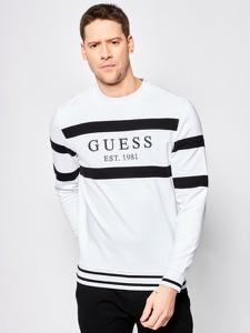 Wielokolorowe swetry i bluzy męskie Guess, kolekcja lato 2020