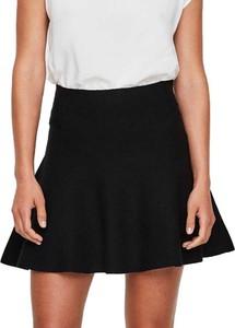 Czarna spódnica Vero-moda z dzianiny