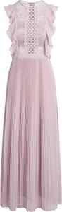 Różowa sukienka Apart maxi