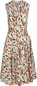 Sukienka Marni bez rękawów z okrągłym dekoltem