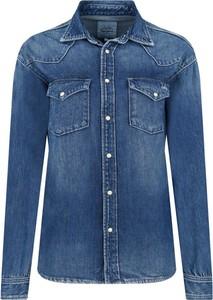 Niebieskie koszule damskie Pepe Jeans, kolekcja lato 2020  5gGq2