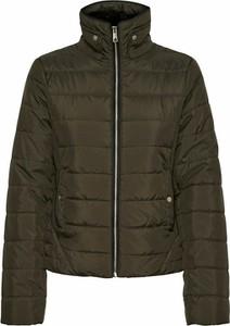 Zielona kurtka Vero Moda w stylu casual krótka
