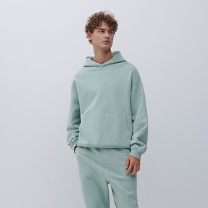 Turkusowa bluza Reserved w stylu casual