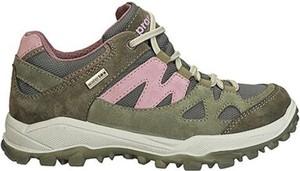 Zielone buty trekkingowe Sprandi Outdoor Performance sznurowane