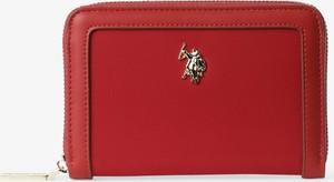 Czerwony portfel U.S. Polo