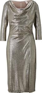 Sukienka Heine z długim rękawem prosta