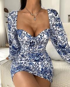 Sukienka Kendallme mini w stylu casual dopasowana