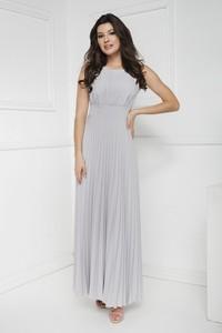 Srebrna sukienka Marcelini
