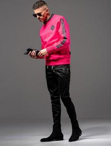 Różowa bluza Guns&Tuxedos z dżerseju