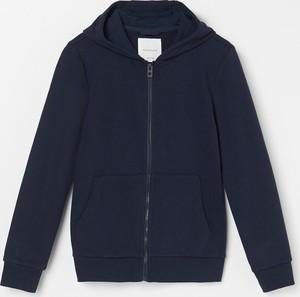 Granatowa bluza dziecięca Reserved