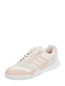 Buty sportowe damskie Adidas Originals beżowe sznurowane na lato