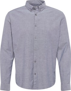 Niebieska koszula Esprit z bawełny z długim rękawem z klasycznym kołnierzykiem