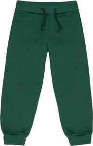 Zielone spodnie dziecięce Fluffy dla chłopców