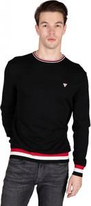 Czarny sweter Guess w stylu casual z bawełny