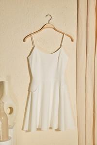 Sukienka Trendyol mini z długim rękawem w stylu casual