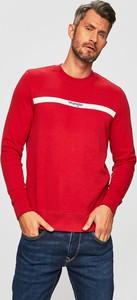 Czerwona bluza Wrangler z dzianiny