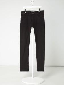 Czarne spodnie dziecięce Review For Teens z jeansu