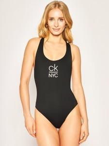 Strój kąpielowy Calvin Klein z nadrukiem