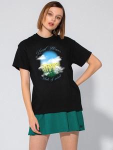 T-shirt LOCAL HEROES w młodzieżowym stylu z krótkim rękawem