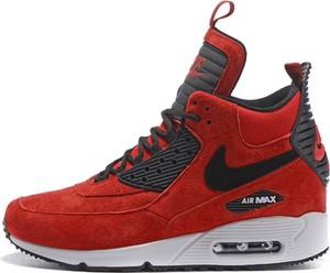 Czerwone buty sportowe Nike air max 90