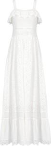 Sukienka Twinset maxi w stylu casual