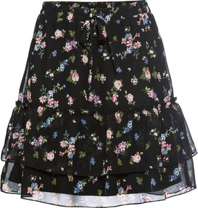 Czarna spódnica bonprix RAINBOW