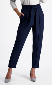 Granatowe spodnie Lavard