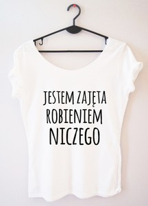 T-shirt Time For Fashion z krótkim rękawem w młodzieżowym stylu z okrągłym dekoltem