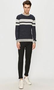 Sweter Tom Tailor z okrągłym dekoltem z dzianiny w młodzieżowym stylu