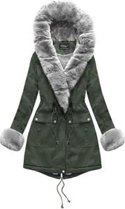 Zielona kurtka Speed.A z bawełny