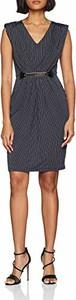 Granatowa sukienka amazon.de bez rękawów
