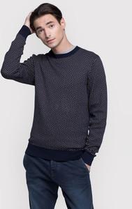 Granatowy sweter Vistula