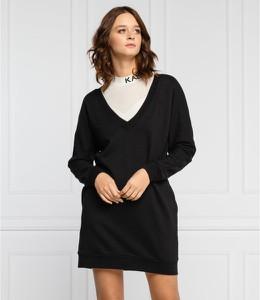 Czarna sukienka Karl Lagerfeld