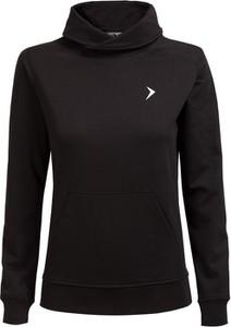 Czarna bluza Outhorn z bawełny w młodzieżowym stylu
