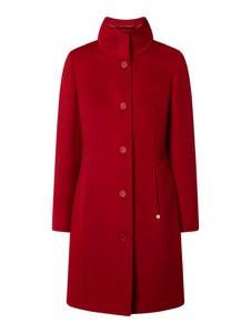 Czerwony płaszcz Pennyblack z wełny w stylu casual