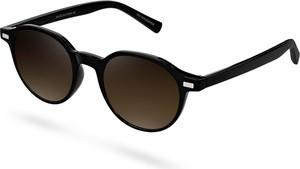 Waykins Czarno-brązowe okulary przeciwsłoneczne Wagner