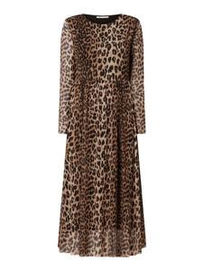 Sukienka Catwalk Junkie z okrągłym dekoltem z długim rękawem
